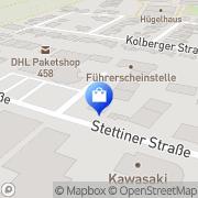 Karte Autoschilder Buffalo Marl Marl, Deutschland