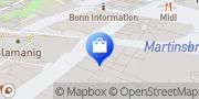 Karte Wolsdorff Tobacco Bonn, Deutschland