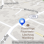 Karte Freiwillige Nienborg Heek, Deutschland