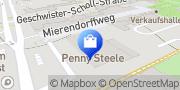 Karte PENNY-Markt Discounter Essen, Deutschland
