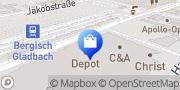 Karte Görtz Schuhe Bergisch Gladbach, Deutschland