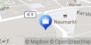 Karte Galeria Kaufhof Wuppertal Wuppertal, Deutschland