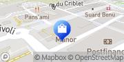 Carte de MANOR Fribourg Fribourg, Suisse