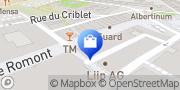 Carte de Herren Globus Fribourg, Suisse
