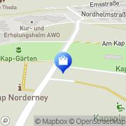 Karte Netto Filiale Norderney, Deutschland