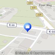 Karte Floristik Tausch Recklinghausen, Deutschland