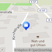 Karte Nah und Gut Uhlen Niederlangen, Deutschland