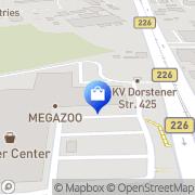 Karte Netto Filiale Bochum, Deutschland