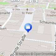 Karte KarstadtSport Recklinghausen, Deutschland