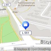 Karte Netto Filiale Recklinghausen, Deutschland