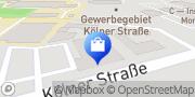 Karte PENNY-Markt Discounter Recklinghausen, Deutschland