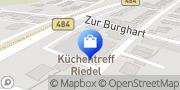 Karte KüchenTreff Riedel Lohmar, Deutschland