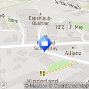 Karte Aljo-Garn GmbH Wuppertal, Deutschland