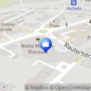 Karte Netto Filiale Witten, Deutschland