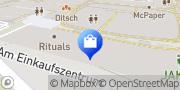 Karte G-Star RAW Store Bochum, Deutschland