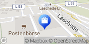 Karte Netto Filiale Emsbüren, Deutschland
