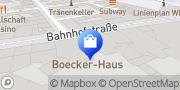 Karte Vodafone Shop Witten, Deutschland