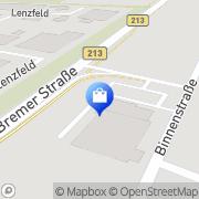 Karte Netto Filiale Lingen (Ems), Deutschland