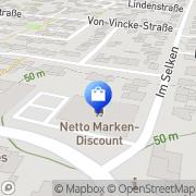 Karte Netto Filiale Olfen, Deutschland