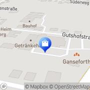 Karte Netto Filiale Papenburg, Deutschland