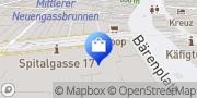 Carte de Herren Globus Berne, Suisse