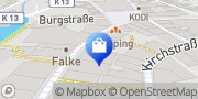 Karte Vodafone Shop Lüdinghausen, Deutschland
