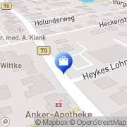 Karte Netto Filiale Moormerland, Deutschland