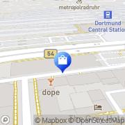 Karte adidas Store Dortmund, Deutschland