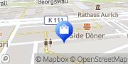 Karte o2 Shop Aurich, Deutschland