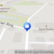 Karte hel-tec business solutions Rheine, Deutschland