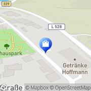 Karte Netto Filiale Halver, Deutschland