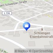 Karte AVONIKA Schliengen, Deutschland