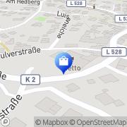 Karte Netto Filiale Kierspe, Deutschland