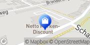Karte Netto Filiale Koblenz, Deutschland