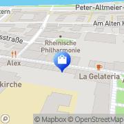 Karte Shoetikk Koblenz, Schweiz