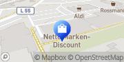 Karte Netto Filiale Herzlake, Deutschland
