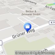 Karte Netto Filiale Greven, Deutschland