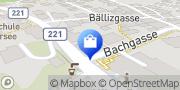Karte Beauty Lounge Tellenbach Hilterfingen, Schweiz