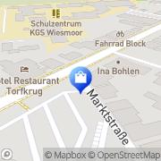 Karte Friesen-Apotheke Wiesmoor, Deutschland