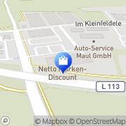 Karte Netto Filiale Riegel am Kaiserstuhl, Deutschland