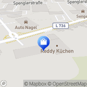 Karte REDDY Küchen Hamm Hamm, Deutschland