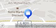 Karte Netto Filiale Apen, Deutschland