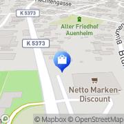 Karte Netto Filiale Kehl, Deutschland