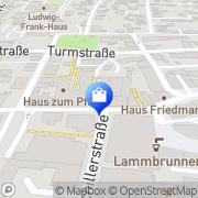 Karte Labyrinth Möbel Lahr/Schwarzwald, Deutschland