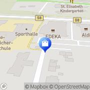 Karte Netto Filiale Ahlen, Deutschland