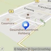 Karte Rössle-Apotheke Hohberg, Deutschland