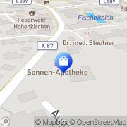 Karte Sonnen-Apotheke Wangerland, Deutschland
