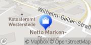 Karte Netto Filiale Westerstede, Deutschland