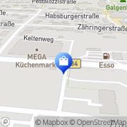 Karte Trigema Inh. W. Grupp E.K. Bad Säckingen, Deutschland