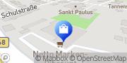 Karte Netto Filiale Quakenbrück, Deutschland